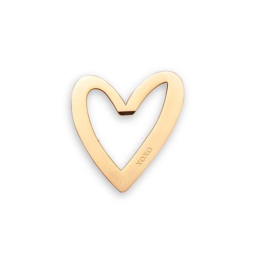 cuore in oro apri bottiglia