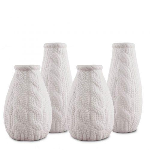 Set 4 pezzi mini-vasi