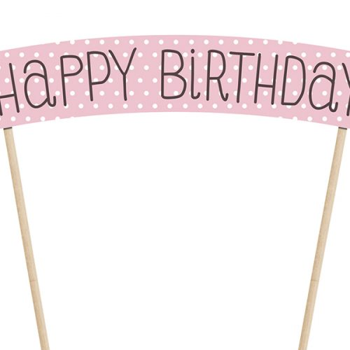 Cake topper compleanno KPT4