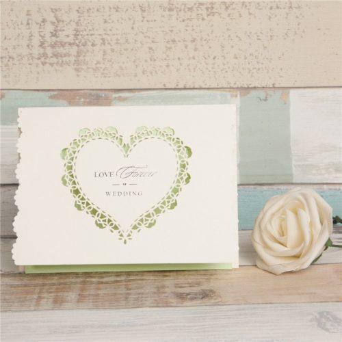 partecipazioni matrimonio cuore