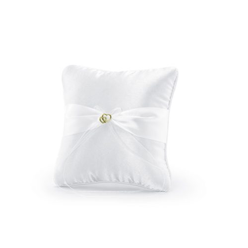 Cuscino portafedi nastro chiffon