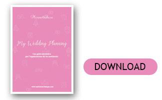 planning matrimonio