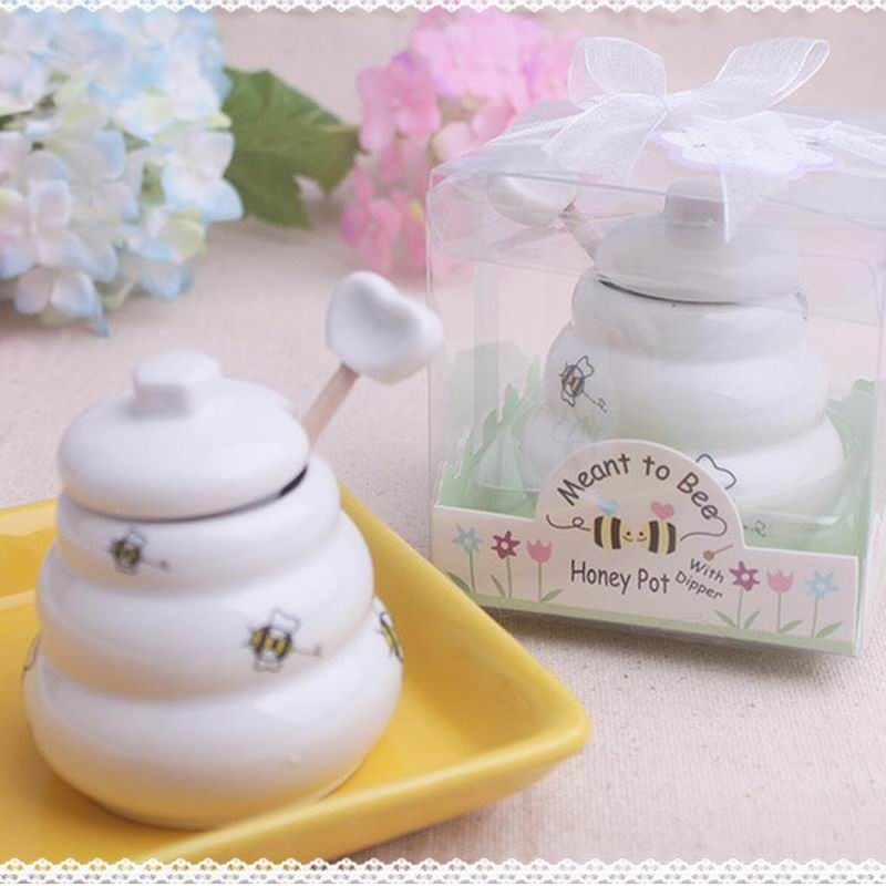 Estremamente Bomboniere vasetto miele, un dolce pensiero per il tuo matrimonio VZ46
