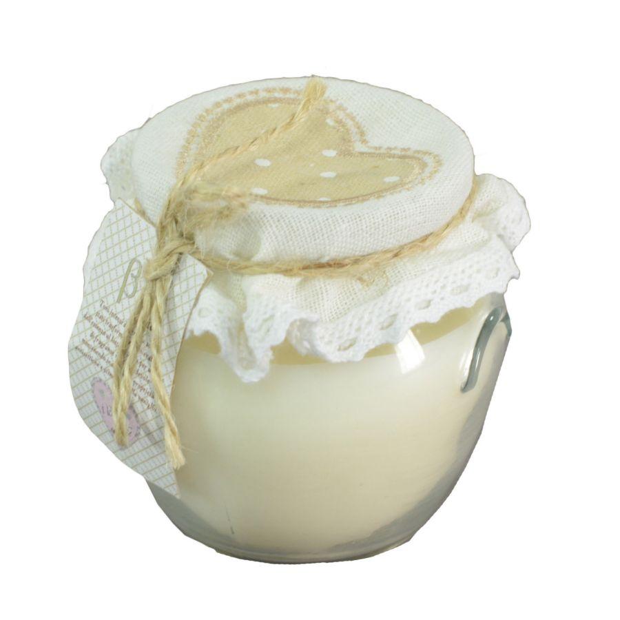 Molto Bomboniera candela in vaso - Bomboniere matrimonio, partecipazioni  MU83