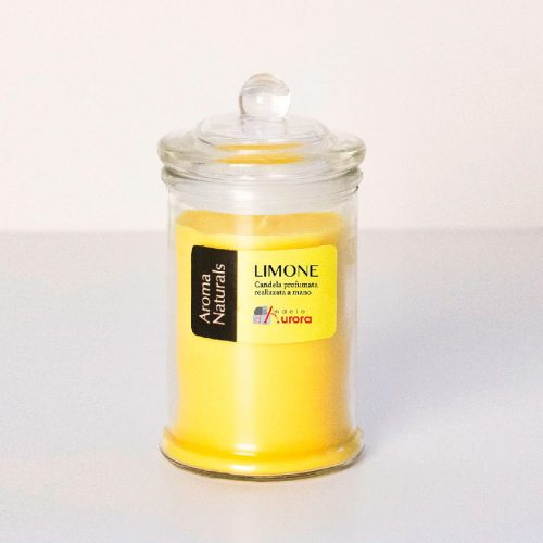 bomboniere candele gialle limone
