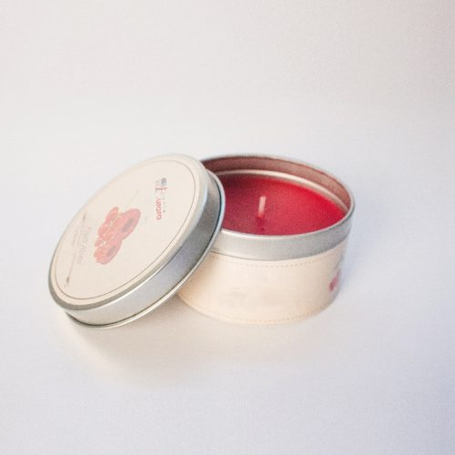 bomboniere candele rosse in scatola