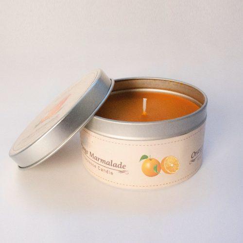 bomboniere candele arancia