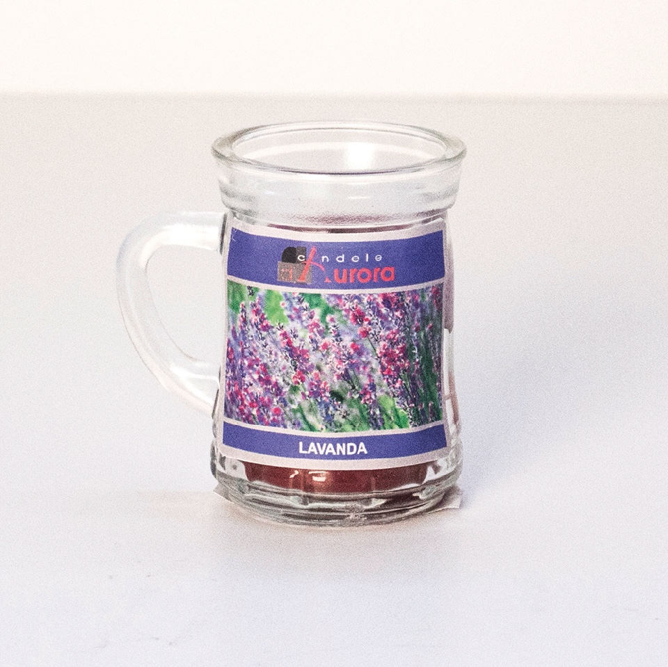 Assez Candele bomboniere: profumate e decorate, in vasetti o  NU38