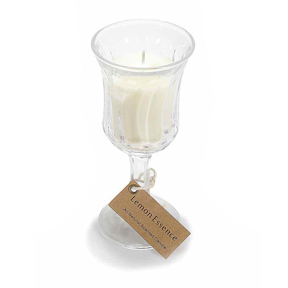Bomboniere Matrimonio Bicchieri.Bomboniere Candele Bicchiere Vetro Matrimonio Da Sogno