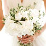 bouquet matrimonio tema ulivo