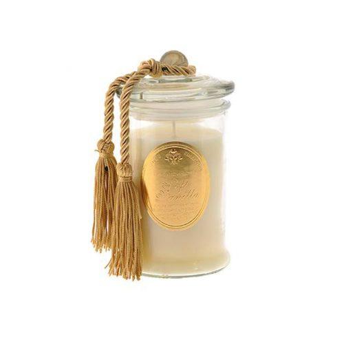 candela profumata pendaglio oro