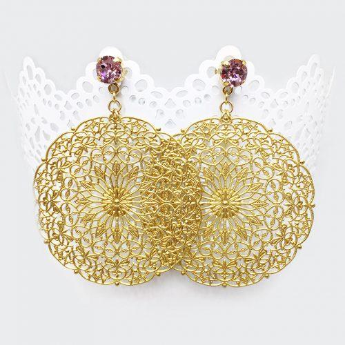 orecchini-oro-rosa