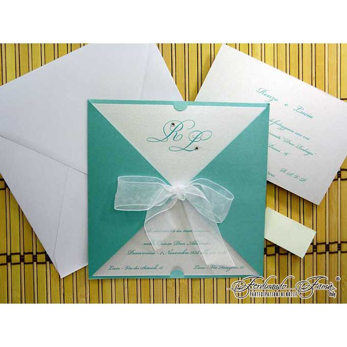 Partecipazioni Matrimonio Tiffany On Line.Partecipazioni Tiffany Matrimonio Da Sogno