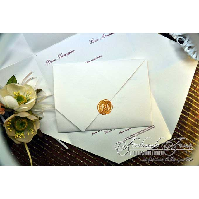 Partecipazioni Matrimonio Pergamena.Partecipazioni Pergamena Matrimonio Da Sogno