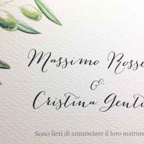 Partecipazioni Matrimonio 500.Partecipazioni Matrimonio Per Un Matrimonio Immerso Nella Natura