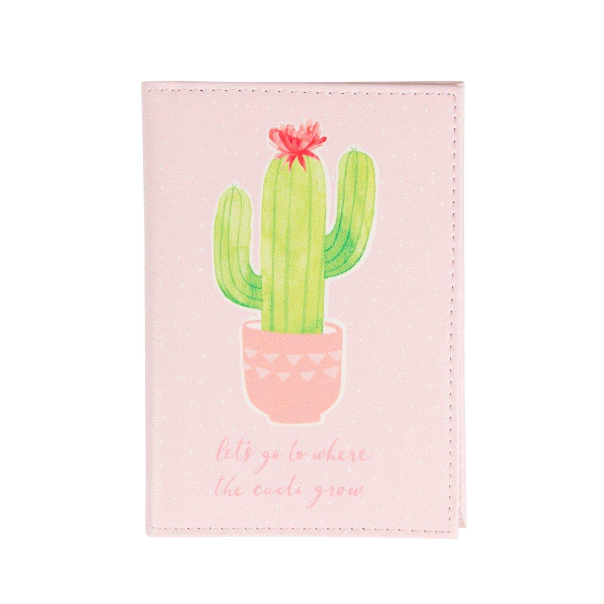 custodia passaporto cactus