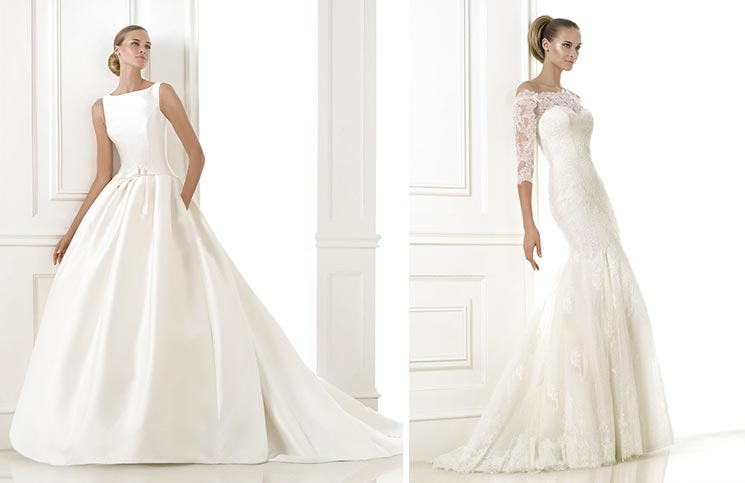 da1de5095d2c Abiti da sposa 2015  la nuova collezione Costura di Pronovias