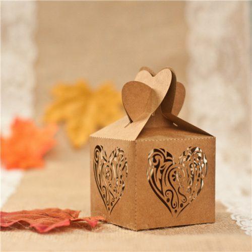 scatoline portaconfetti cuore