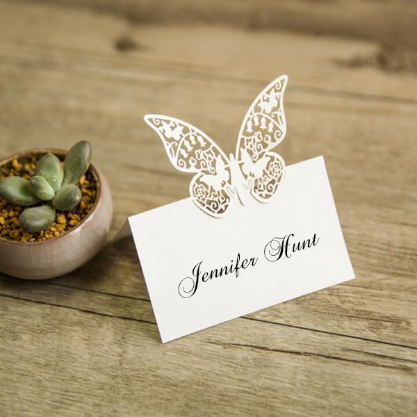 Segnaposto Matrimonio In Legno : Segnaposto matrimonio farfalla bomboniere