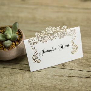 segnaposto matrimonio fiori
